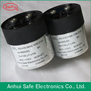 Dc Link Capacitor With High Voltage From China Factory