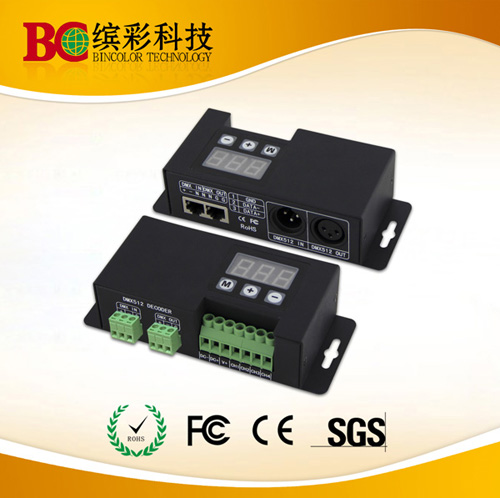 Dc12 24v 4ch Rgbw Dmx512 Decoder