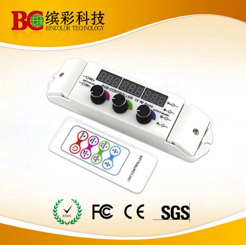 Dc12 24v Rf Rotary Knob Diy Rgb Led Lights Controller