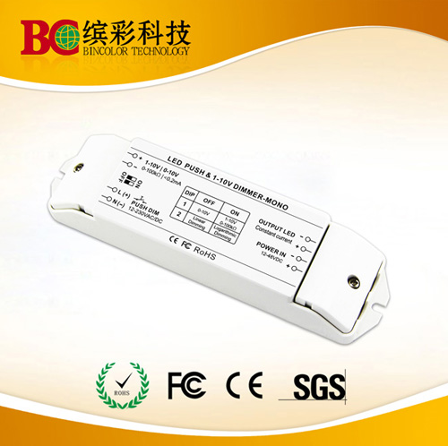 Dc12 48v Constant Current Max 2 7a Push Dim Or 0 1 10v Led Dimmable Driver