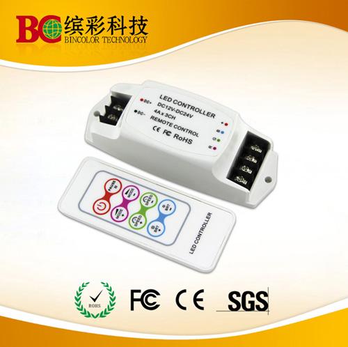 Dc12v 24v 3 Channel Led Strip Light Rgb Controller
