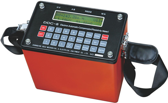 Ddc 8 Electronic Auto Compensation Instrument Resisticity Meter