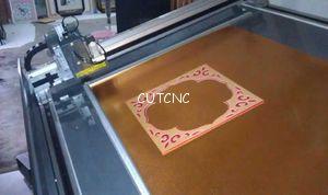 Decorative Frame Paperboard Cnc Cutting Machine