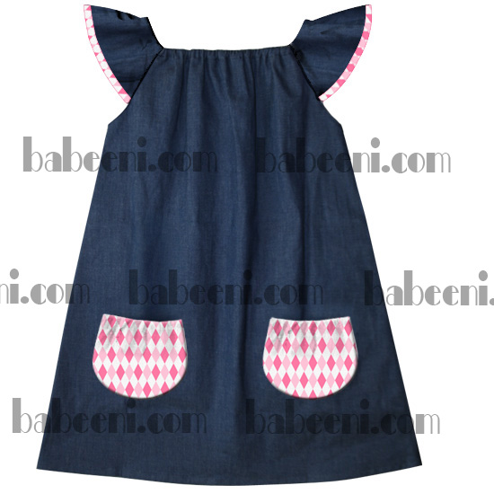 Denim Peasant Dresses