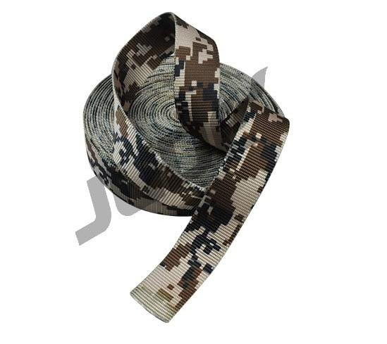 Desert Digital Camouflage Webbing Tubular 2 Sided Printing