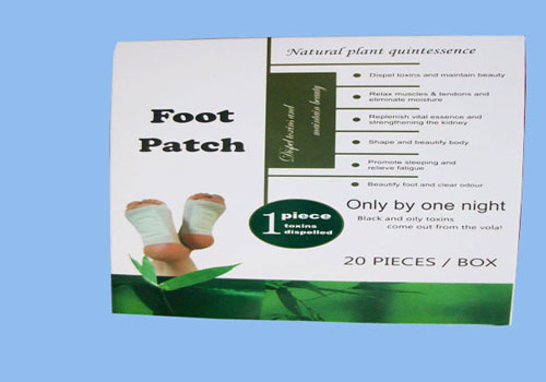 Detox Foot Patch With Packing