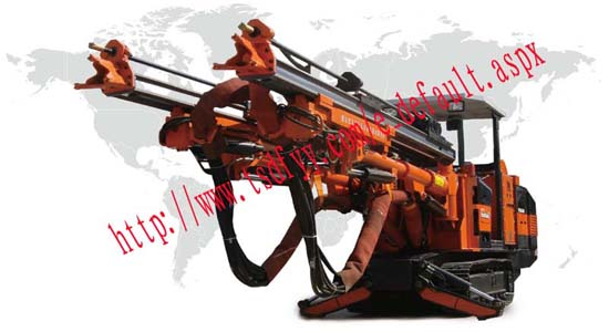 Df20 2bd Double Booms Track Hydraulic Rock Drilling Jumbo