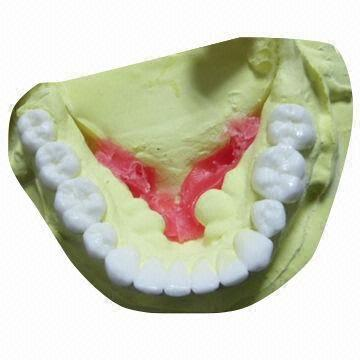 Diagnostic Wax Up Lower Zirconium Alumina Valplast Dental False Teeth