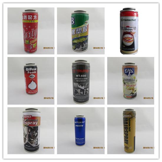 Diam 52mm Tinplate Round Can For Body Spray Deodorant