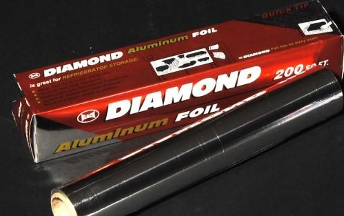 Diamond Aluminum Foil Roll