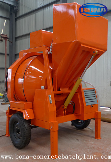 Diesel Engine Concrete Mixer Jzr350 Saled To Maalaysia