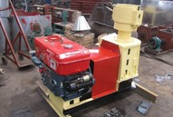 Diesel Engine Home Use Pellet Mill Ce