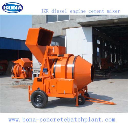 Diesel Engine Mobile Cement Mixer Jzr350 Saled To Yemen