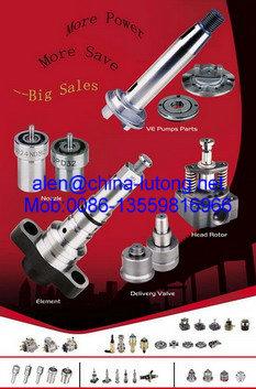 Diesel Injection Pump Parts Plunger Element