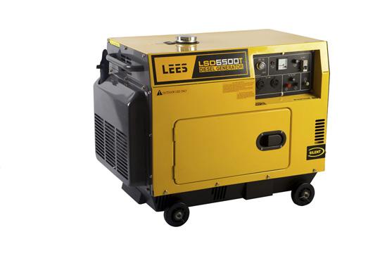 Diesel Portable Silent Generator Lsd6500t