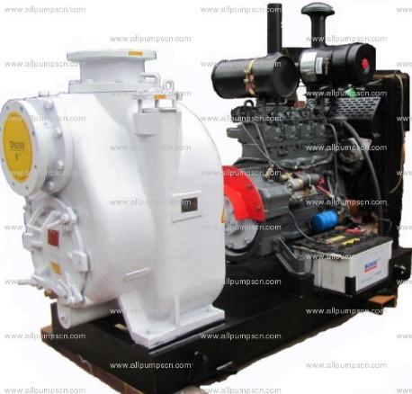 Diesel Water Pump Skid Mounted