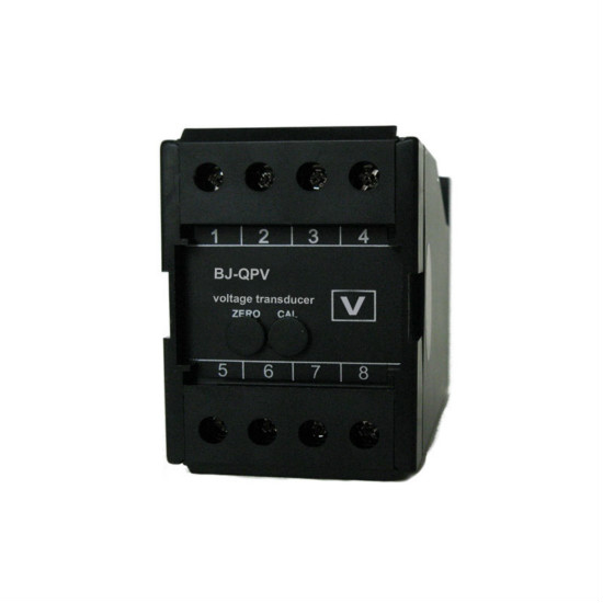 Digital Ac Voltage Transducer Sensor With Din Rail Mounting