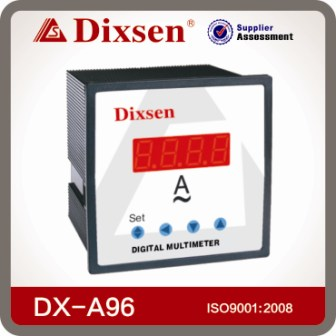 Digital Ammeter 96x96 Size