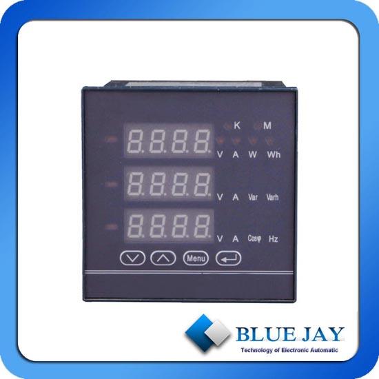 Digital Led Display Optional Rs232 Port Panel Meter