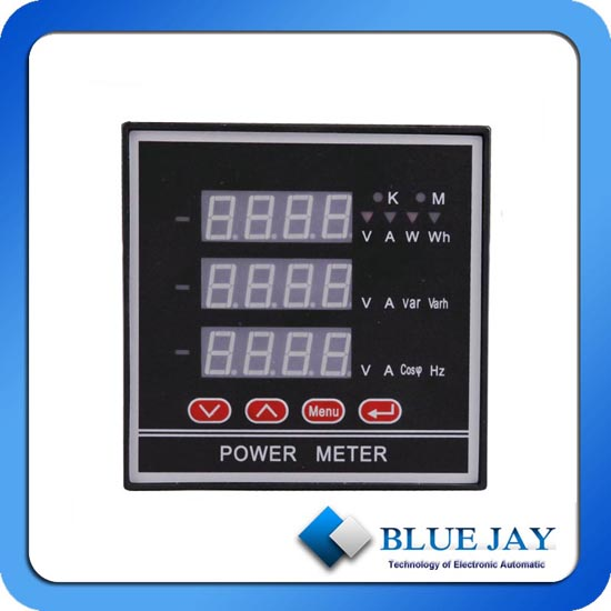 Digital Led Display With High Accuracy Energy And Power Meter