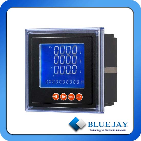 Digital Rs485 Communication Port And Low Voltage Systems Panel Meter