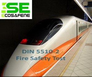 Din 5510 2 Fire Test To Railway Component Germany Standard