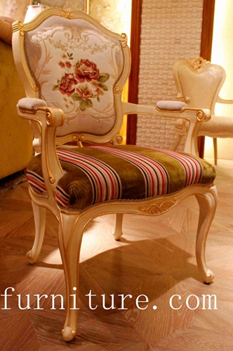 Dining Chair Antique Chairs Popular In Russia Fabric Room Furniture Fy 105