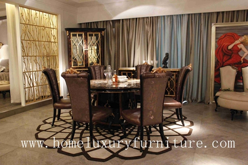 Dining Room Sets Marble Table Italy Style Europe Modern Furnituretn003