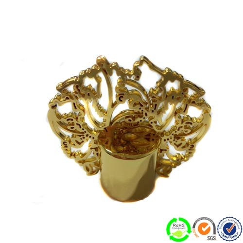 Direct Supplier Zinc Alloy Perfume Bottle Caps Pc 0823