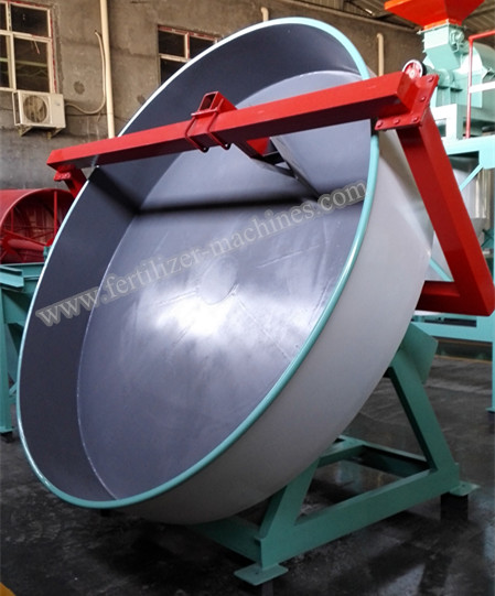Disc Granulator Supplier Best Pan Fertilizer