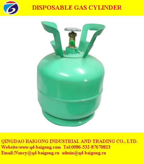 Disposable Gas Cylinder For Export