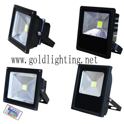 Diy Flood Lights With Cob Light Source