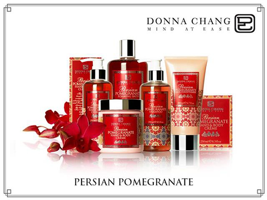Donna Chang Persian Pomegranate Collection