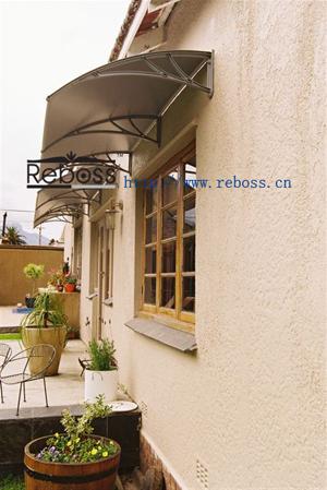 Door Canopy Aluminium Both Sides Pc Core D2400a A