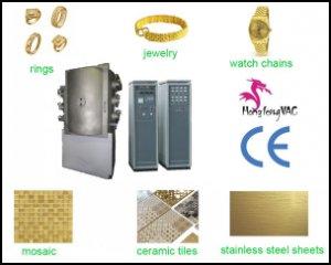 Door Handles Gold Vacuum Coating Machine Multi Arc Ion Plating