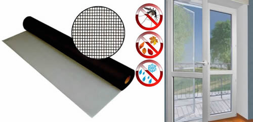 Door Screen Provides Fresh Air Against Pesky Insects