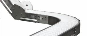Dornor Conveyors 7350 Series Z Frame Curved