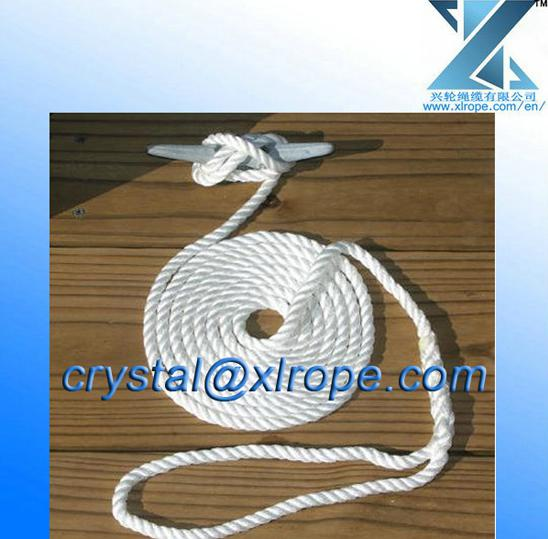 Double Braided Polyester Yacht Rope For Sailing