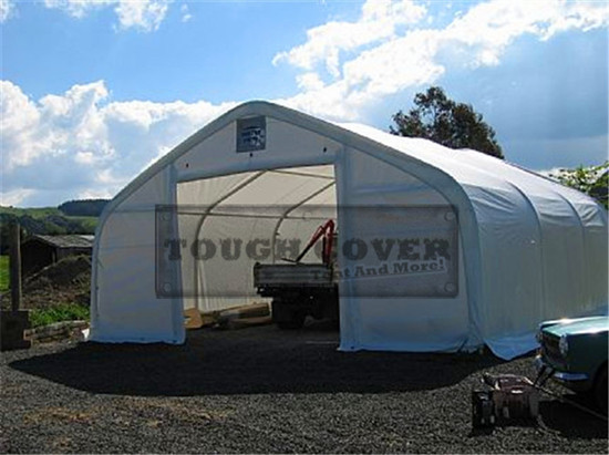 Double Car Garage Storage Tent Fabric Building Tc2630