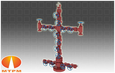 Double Channel Completion Wellhead X Mas Tree