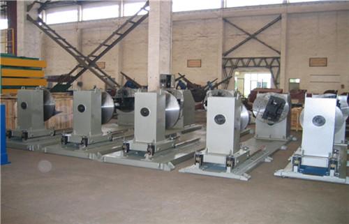 Double Column Elevating Welding Positioner