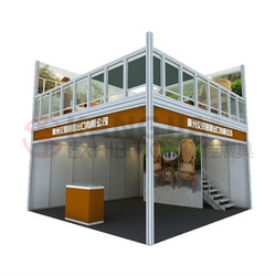 Double Deck Booth For Exhibition And Business Serives