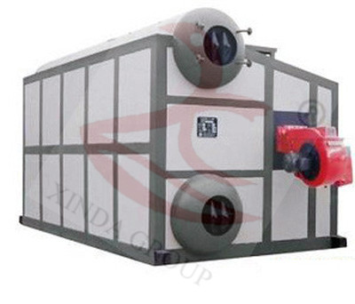 Double Drum Chain Grate Coal Fired Hot Water Boiler