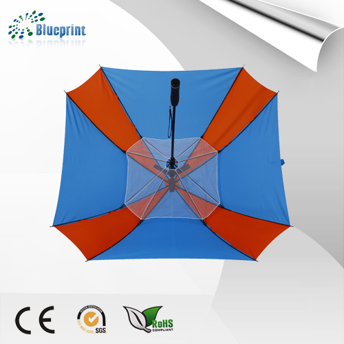 Double Layer Innovative Fan Umbrella