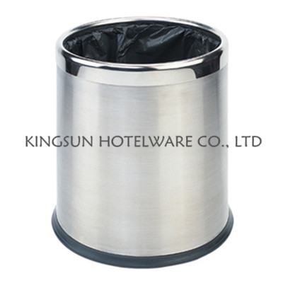 Double Layer Round Room Dustbin