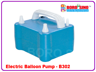 Double Nozzles Electric Balloon Pump B302