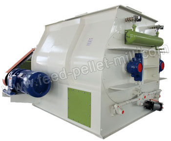 Double Paddle Feed Mixer A Horizontal Mixing Device Widely Used For Grain Powder In Pellets Producti