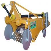 Double Row Potato Harvester Machine