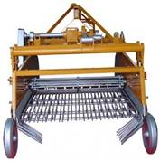 Double Row Sifting Potato Harvester Machine