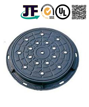 Double Sealed Sand Casting Manhole Cover With Coating Service